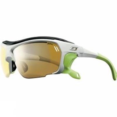 e672171787f Julbo Trek Zebra Sunglasses White Lime - AussieBlokeStuff
