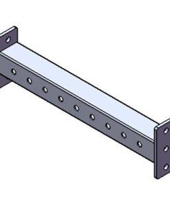 2FT Cross Bar Lasercut