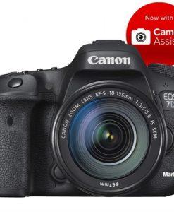 Canon EOS 7D Mark II (G) W w/EF-S 18-135mm f/3.5-5.6 IS USM Lens Digital SLR Camera