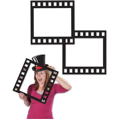Hollywood Filmstrip Photobooth Frames Pack of 5 - AussieBlokeStuff