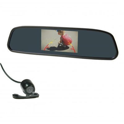 "Gator GRV43MKT 4.3"" Mirror reversing camera wired"