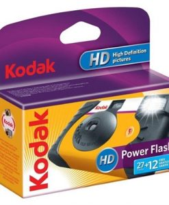 Kodak Power Flash 35mm 27+12 Exposure - Disposable Film Camera