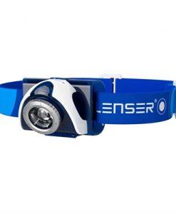 Led Lenser SEO 7R Rechargeable Headlamp - Blue