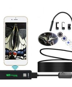 1200P HD WiFi Connection USB connection Endoscope Inspection 10m LED Snake Camera