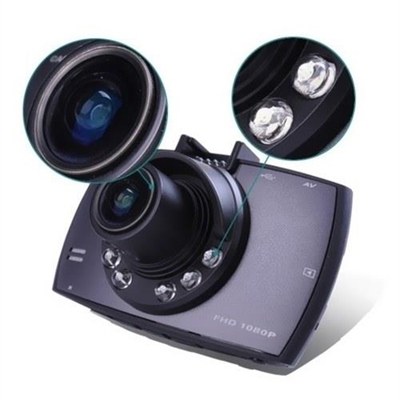 2.4 Inch Dash Camera Full HD Car Video Audio Recorder 120 Degree Angle View With 32GB TF Card Memory Card