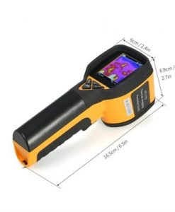 -20~300°C/-4~572°F Professional Mini LCD Digital Handheld Thermal Imaging Camera Infrared Thermometer