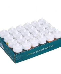24 Pack LED Flame Flickering Effect Candle Light Lamp