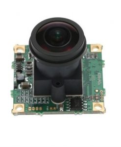 360° Fish-eye 5MP FPV Camera 1.7mm Lens PAL Format for QAV250 FPV Aerial Photography