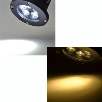 5 * 1W LED Lawn Light Lamp with Stake Spotlight IP65 Waterproof Outdoor Garden Pond Park Landscape White DC12-24V