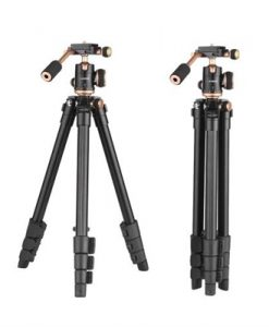 Anoder 124cm/6ft Portable Camera Tripod Stand