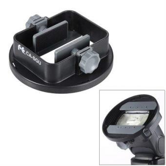 CA-SGU Universal Flash Speedlite Mount Adapter Bracket Accessories for Nikon Canon Yongnuo Godox Sigma Andoer Neewer Vivitar Speedlight Barn Door Mini Refelctor