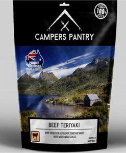 Campers Pantry Freeze Dried Beef Teriyaki