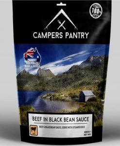 Campers Pantry Freeze Dried Beef & Blackbean