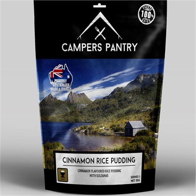 Campers Pantry Freeze Dried Cinnamon Rice Pudding