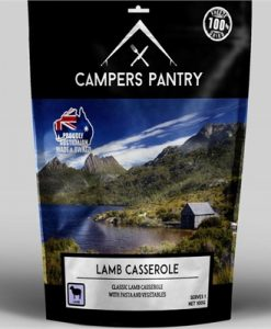 Campers Pantry Freeze Dried Lamb Casserole