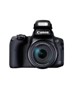 Canon Powershot SX70 Black Digital Compact Camera