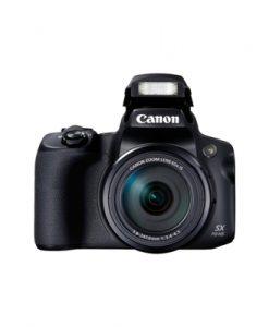 Canon Powershot SX70 Black Digital Compact Camera
