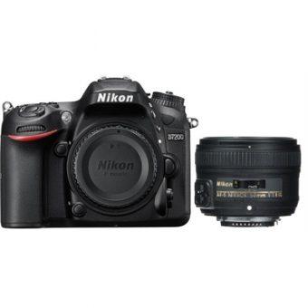 D7200 with Nikkor AF-S 50mm f/1.8G