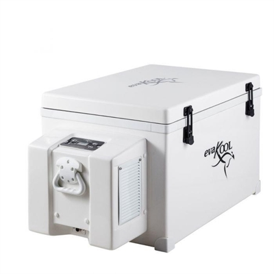 Evakool RFB85-FF Fibreglass Fridge/Freezer - 85L - End Opening