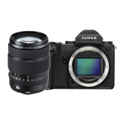 Fujifilm GFX 50S with GF 32-64mm f/4 R LM WR Lens