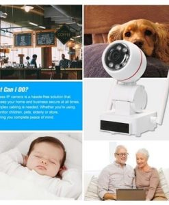 HD 1080P 2MP WiFi PTZ Security IP Camera Without Power Plug