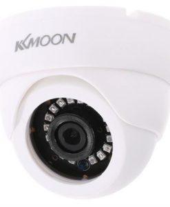 KKmoon 720P 1500TVL Dome AHD Surveillance Camera 1.0MP CCTV Security Indoor 18 IR Lamps Night Vision 1/4'' CMOS IR-CUT NTSC System