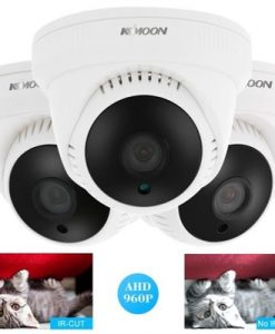 "KKmoon 960P AHD Dome Camera 1.3MP CCTV Security 1/3"" CMOS 3.6mm 24 IR Lamps Indoor Night Vision IR-CUT NTSC System"