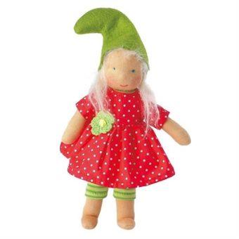Kathe Kruse Waldorf Organic Garden Elf Pimpernells Doll