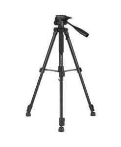 Kingjoy VT-860 56 Inch 4 Section Aluminum Alloy Professional Camera Tripod for Photography Video Shooting Support DSLR SLR Camcorder with Carry Bag Max. Load 3kg