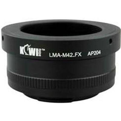 Kiwi Mount Adapter - M42 Lens - FujiFilm X Camera