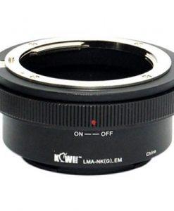 Kiwi Mount Adapter - Nikon G Lens - Sony E Camera - LMA-NK(G)_EM