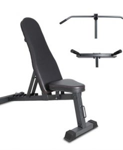 Lifespan Fitness BN-6 Standalone Bench with Chin Up & Dip Attachments {184358}