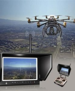 "Lilliput 7"" 664/W Slim HD IPS Wireless Monitor 5.8GHz for FPV Aerial Flying Phantom HD Camera"