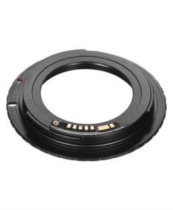 M42-EOS 9th 42mm Screw Mount Lens to Canon EOS Camera Lens Mount Adapter Ring Support Focus Prompt