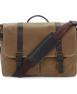 ONA Brixton Camera and Laptop Messenger Bag Field Tan