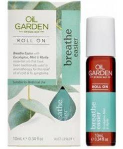 Oil Garden Breathe Easier Roll On Oil 10ml