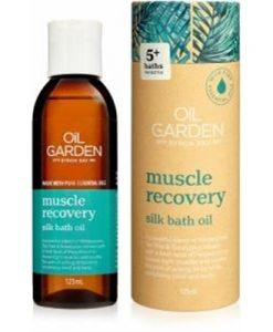 Oil Garden Muscle Recovery Bath Oil 125ml