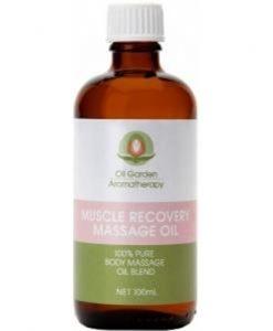 Oil Garden Muscle Recovery Massage Oil 100ml