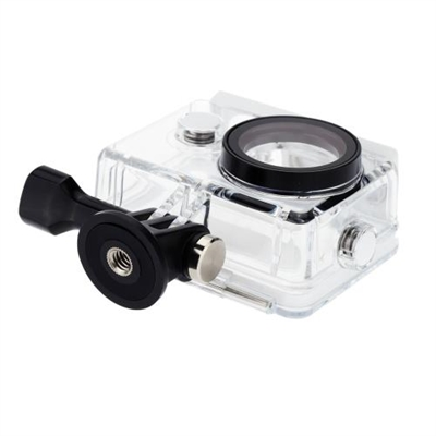 Original Xiaomi Xiaoyi Camera Waterproof Shell IP68 Level 40m Deep Water Experience Sealed AF AR Double Optical Filming PC Super Lightweight Tough Durable