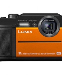 Panasonic Lumix DC-FT7 Orange Digital Compact Camera