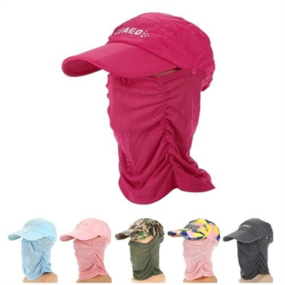 Work Product Protection Fishing For >> Protection Sun Cap Removable Neck Face Flap Cover Cap For Fishing Hiking Garden Work Outdoor Activities