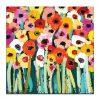 Rainbow Garden   Anna Blatman   Canvas or Print by Artist Lane