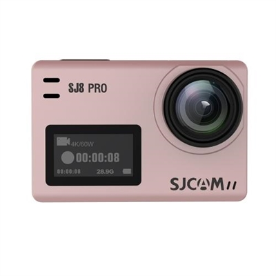 SJCAM SJ8 PRO Action Camera 4K/60FPS WiFi Sports Cam Rose Gold Bare-metal  Version