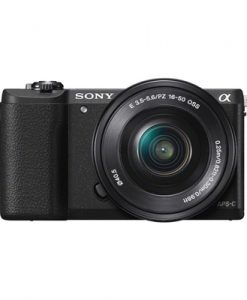 Sony A5100 Black w/16-50mm Lens Compact System Camera