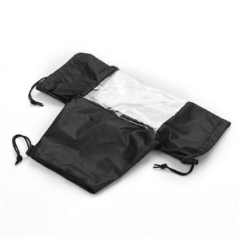 Standard Camera Waterproof Rain Cover Sleeve Protector Raincoat for Canon Nikon Sony DSLR Cameras Black