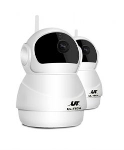 UL-TECH 1080P Wireless IP Camera CCTV Security System Baby Monitor White [CCTV-IP-PANDA-WH-FC2]