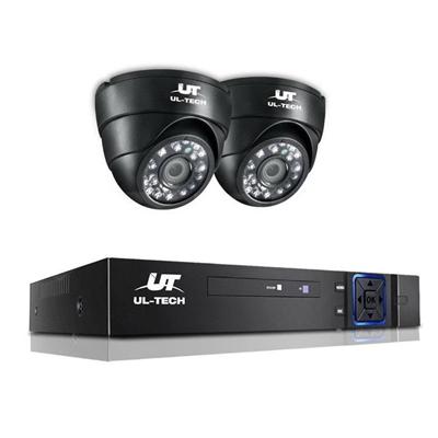 UL Tech 1080P 4 Channel HDMI CCTV Security Camera [CCTV-4C-2D-BK]