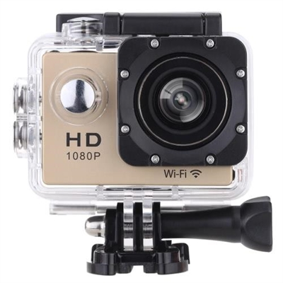 """W8 1080P 30FPS 12MP Wifi Waterproof 30M Shockproof 170° Wide Angle 1.5"""" Screen Outdoor Action Sports Camera Camcorder Digital Cam Video HD DV Car DVR"""