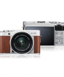 X-A5 Brown Mirrorless Camera with XC 15-45mm OIS PZ Lens