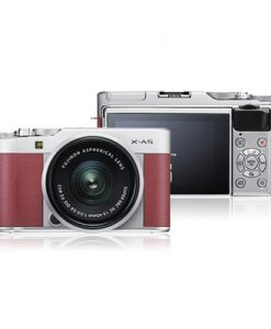 X-A5 Pink Mirrorless Camera with XC 15-45mm OIS PZ Lens